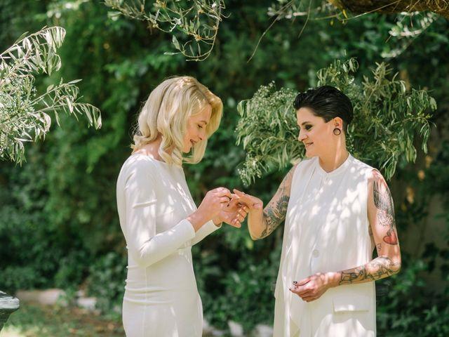 La boda de Alina y Grace en Macastre, Valencia 35