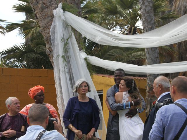 La boda de Moustapha y Lourdes en Telde, Las Palmas 3