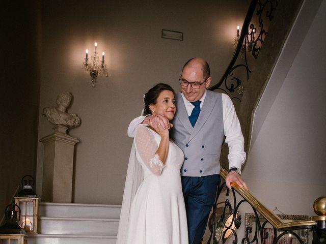 La boda de María José y Isaac en La Manjoya, Asturias 27