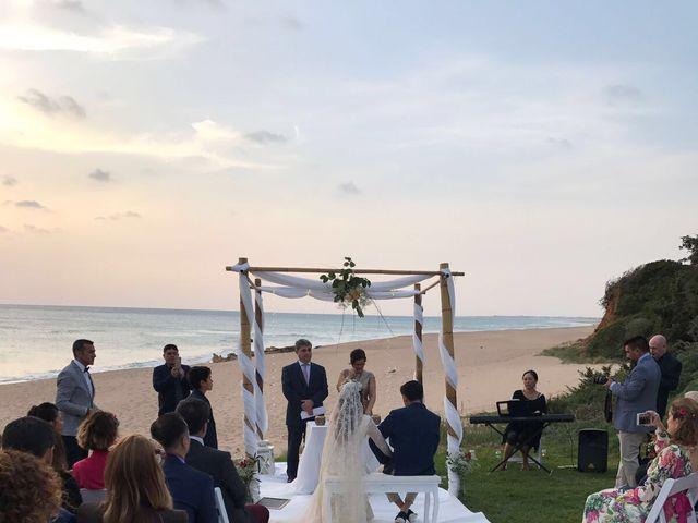 La boda de Jesus  y Paula en Roche, Cádiz 1