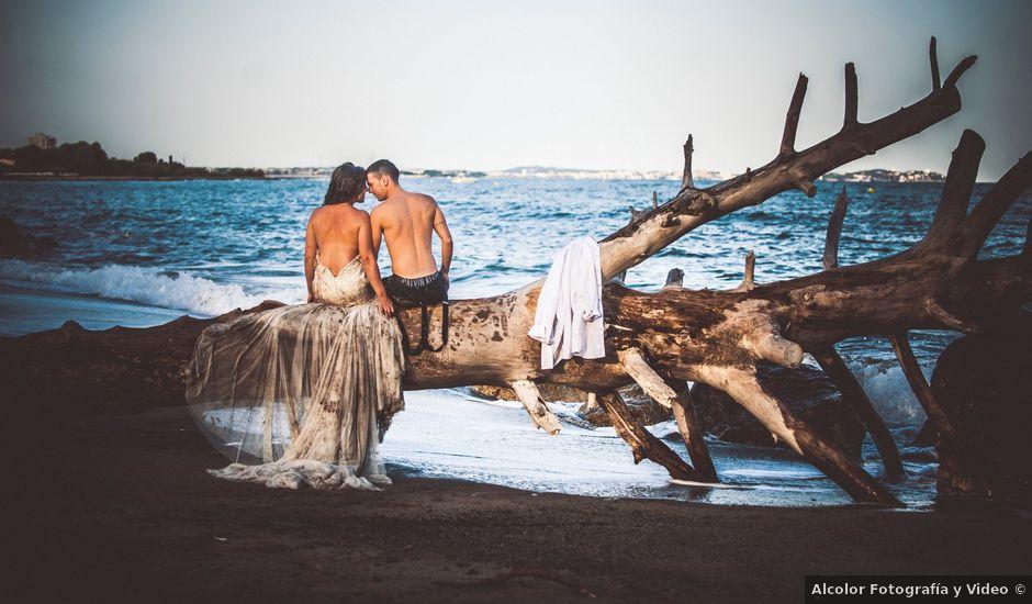 La boda de Carlos y Jessica en Montbrio Del Camp, Tarragona