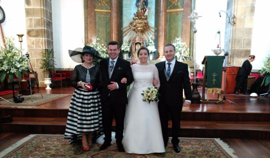La boda de Rubén y María en Ferrol, A Coruña