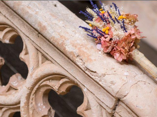 La boda de Luisma y María en Topas, Salamanca 2