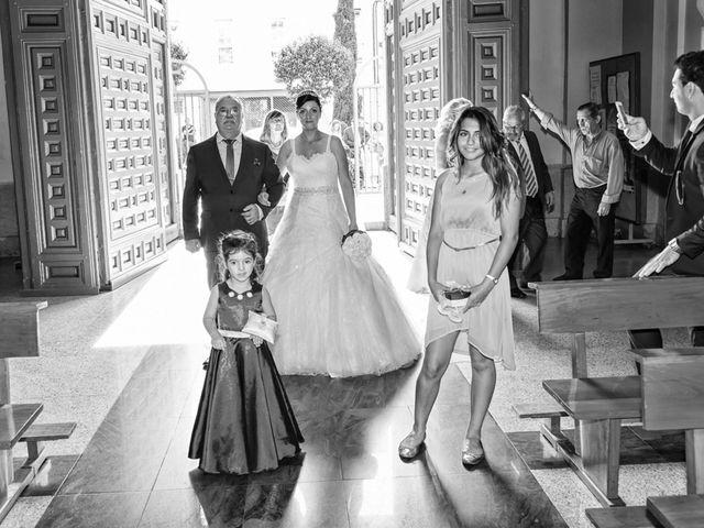 La boda de Emiliano y Aurora en Illescas, Toledo 21