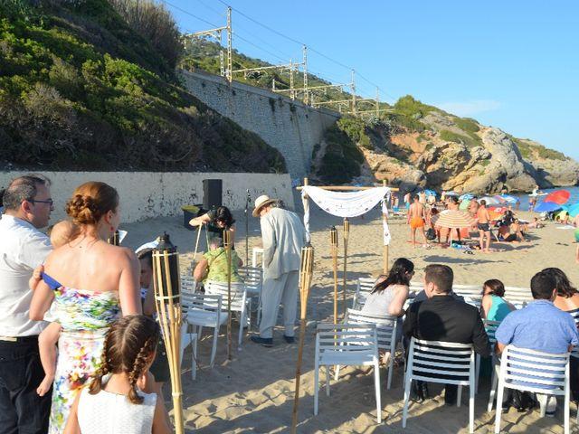 La boda de Joan y Desi en Garraf, Barcelona 2