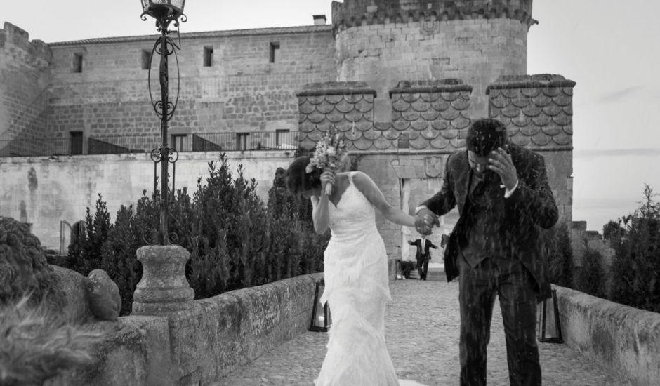 La boda de Luisma y María en Topas, Salamanca