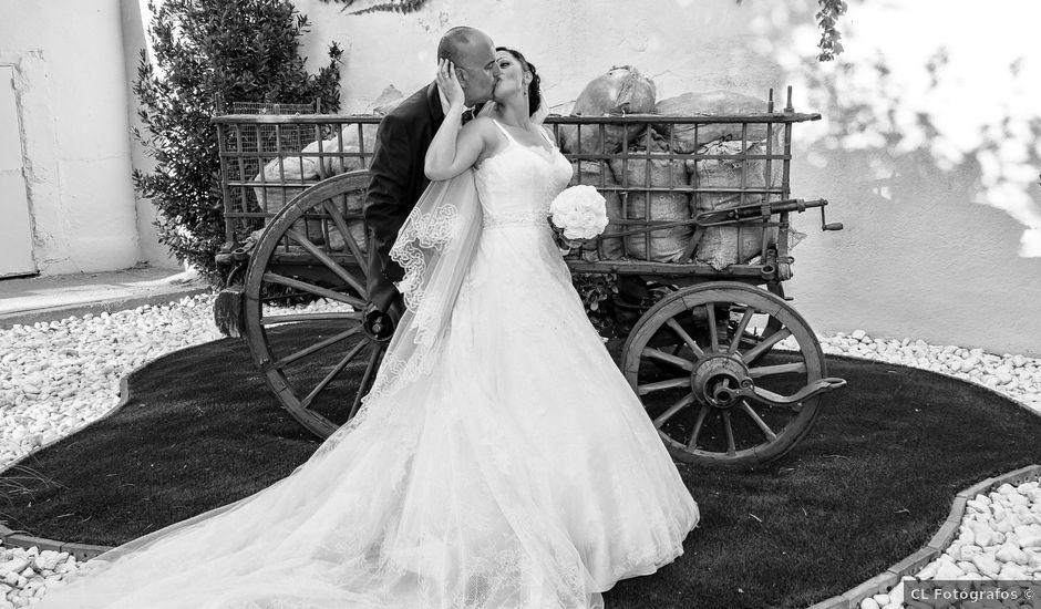 La boda de Emiliano y Aurora en Illescas, Toledo