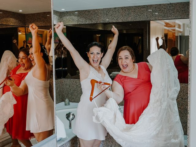 La boda de Francisco y Luisa en Aguadulce, Almería 8
