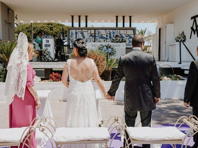 La boda de Francisco y Luisa en Aguadulce, Almería 49