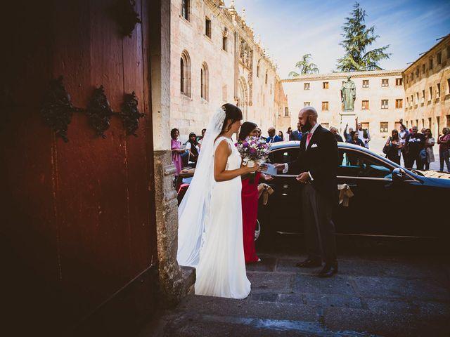 La boda de Quique y Esther en Salamanca, Salamanca 44