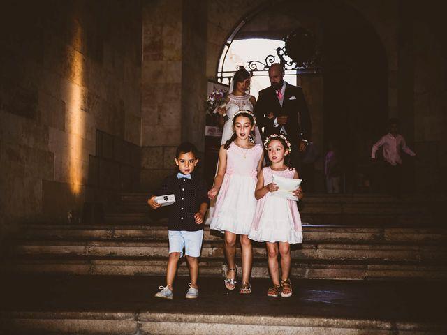 La boda de Quique y Esther en Salamanca, Salamanca 45