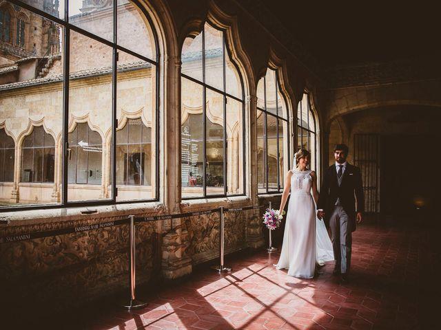 La boda de Quique y Esther en Salamanca, Salamanca 91