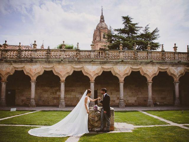La boda de Quique y Esther en Salamanca, Salamanca 105