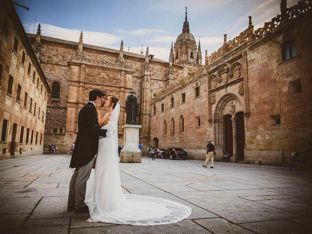 La boda de Quique y Esther en Salamanca, Salamanca 108