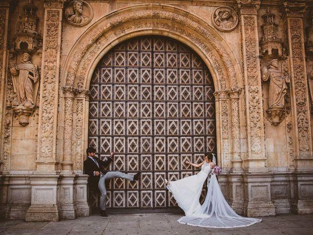 La boda de Quique y Esther en Salamanca, Salamanca 118