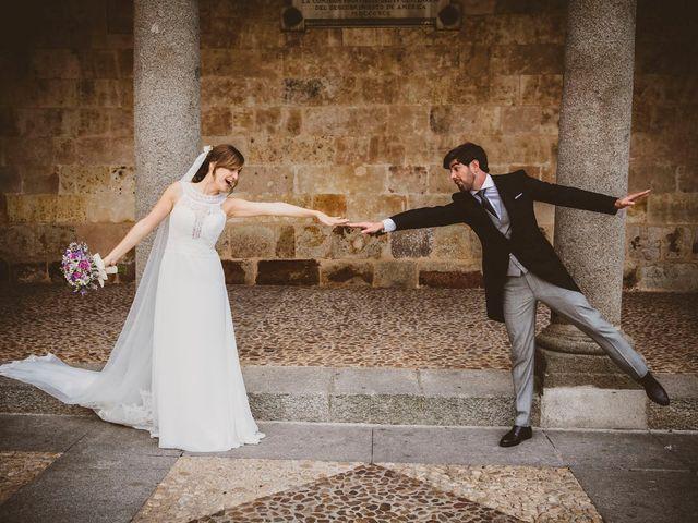 La boda de Quique y Esther en Salamanca, Salamanca 122