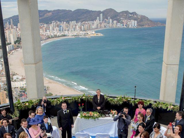 La boda de Jordi y Stela en Benidorm, Alicante 15