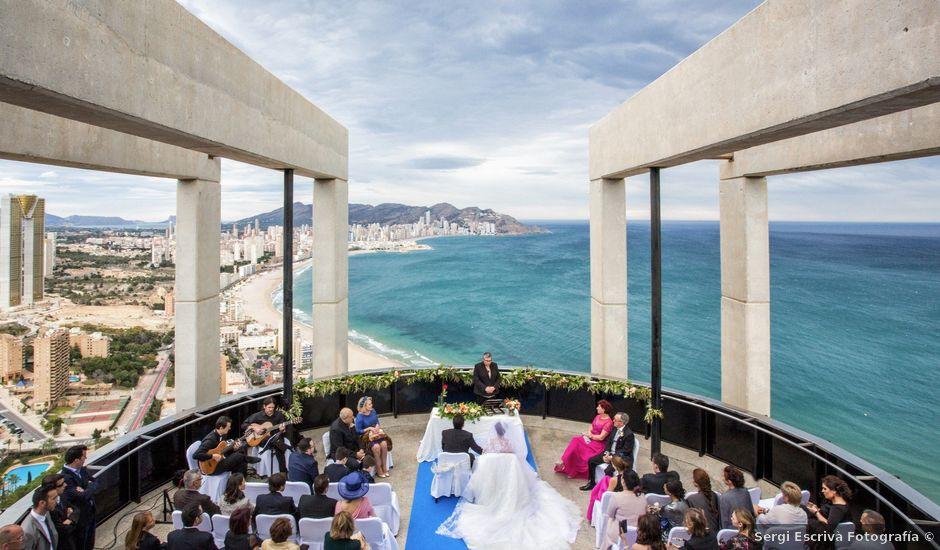 La boda de Jordi y Stela en Benidorm, Alicante