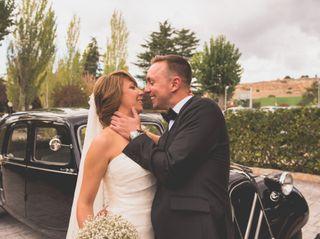 La boda de Estela y Toñin