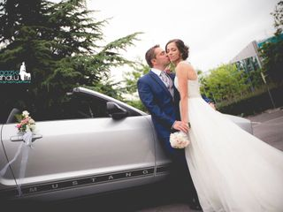 La boda de Ainhoa y David