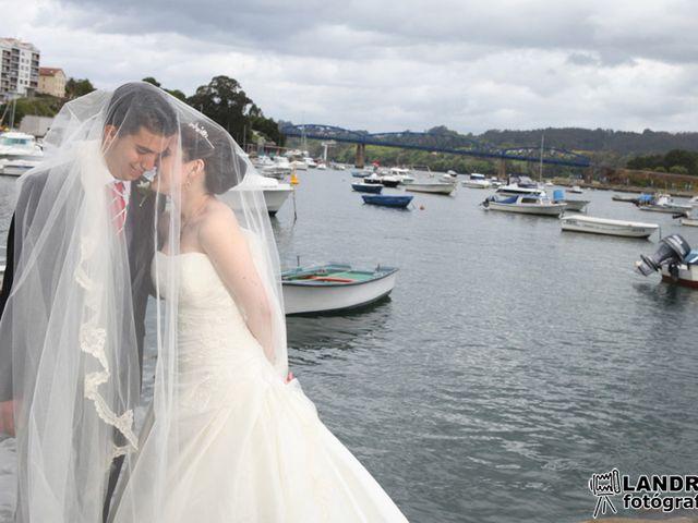 La boda de Diego y Anuska en Pontedeume (Santiago), A Coruña 1