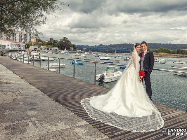 La boda de Diego y Anuska en Pontedeume (Santiago), A Coruña 17