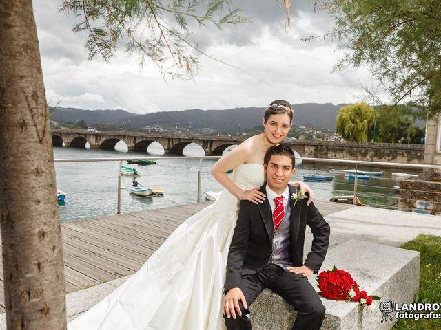 La boda de Diego y Anuska en Pontedeume (Santiago), A Coruña 4