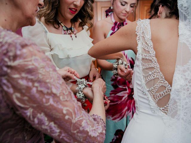 La boda de Javi y María en Arroyomolinos De La Vera, Cáceres 8