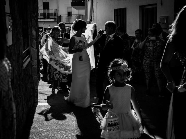 La boda de Javi y María en Arroyomolinos De La Vera, Cáceres 12