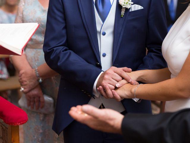 La boda de Javi y María en Arroyomolinos De La Vera, Cáceres 14
