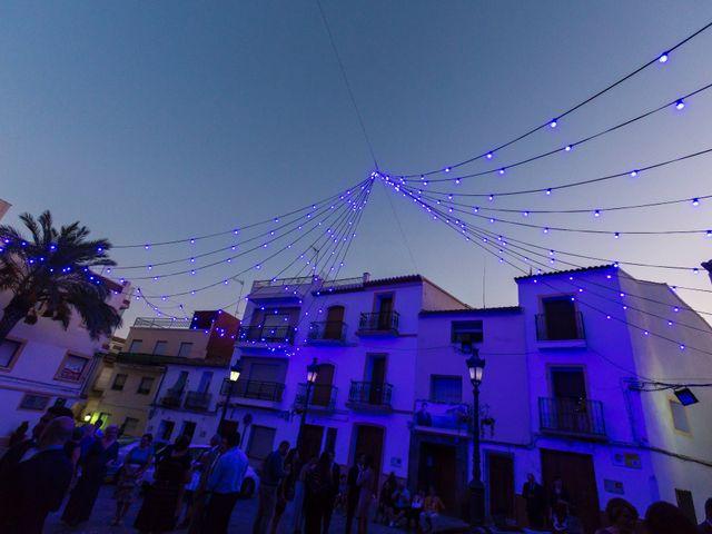 La boda de Luis y Carmen en Calp/calpe, Alicante 36