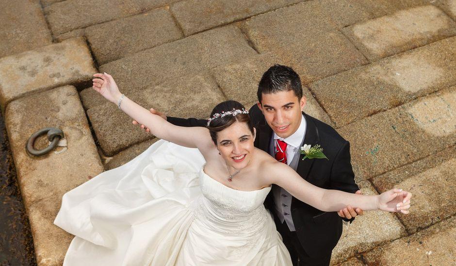 La boda de Diego y Anuska en Pontedeume (Santiago), A Coruña