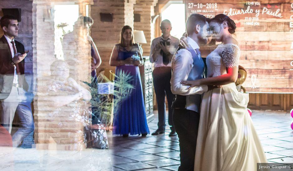 La boda de Edu y Paula en Tiedra, Valladolid