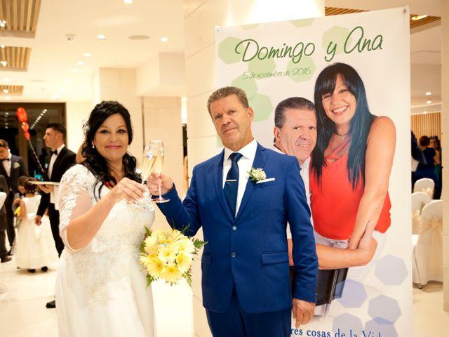 La boda de Domingo y Ana en Puerto De La Cruz, Santa Cruz de Tenerife 17