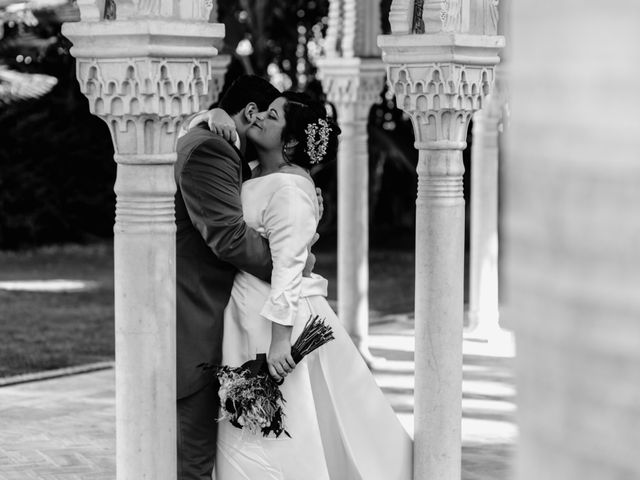 La boda de Antonio y Mª Ángeles en Churriana, Málaga 52
