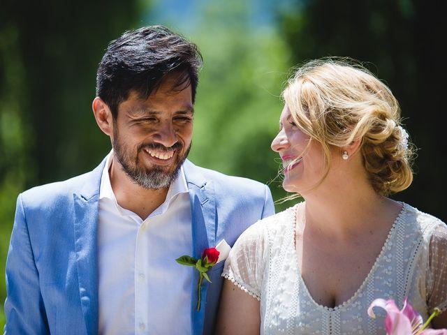 La boda de Kike y Patricia en Las Vilas Del Turbon, Huesca 36