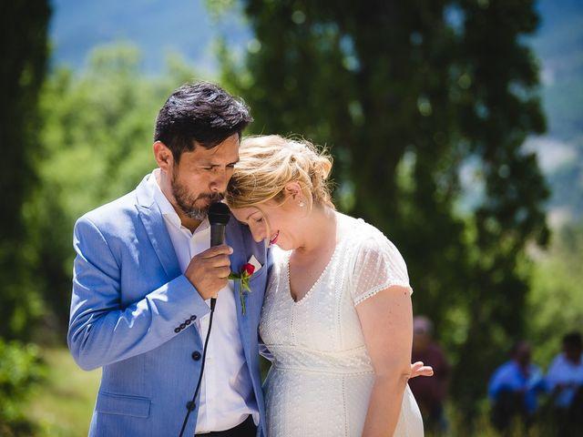 La boda de Kike y Patricia en Las Vilas Del Turbon, Huesca 39