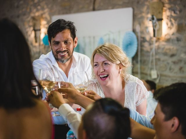 La boda de Kike y Patricia en Las Vilas Del Turbon, Huesca 57