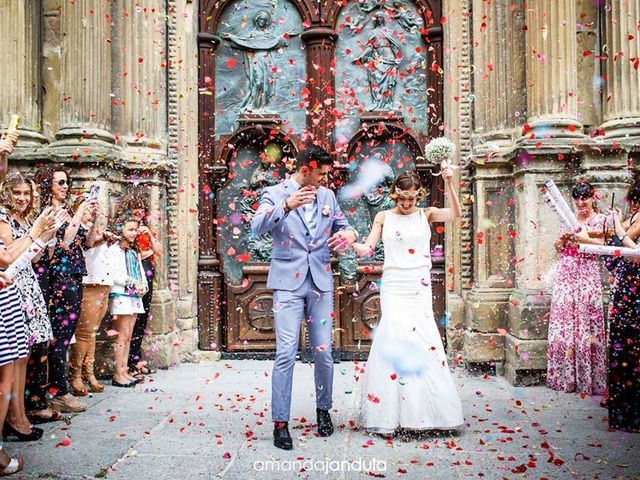 La boda de Cristian y Virginia