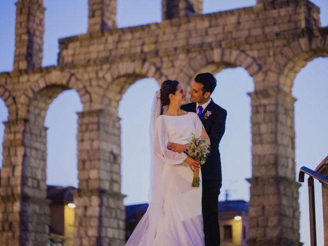 La boda de Miguel y Laura en Matabuena, Segovia 7