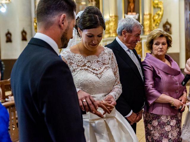 La boda de Javi y Gloria en Burriana, Castellón 33