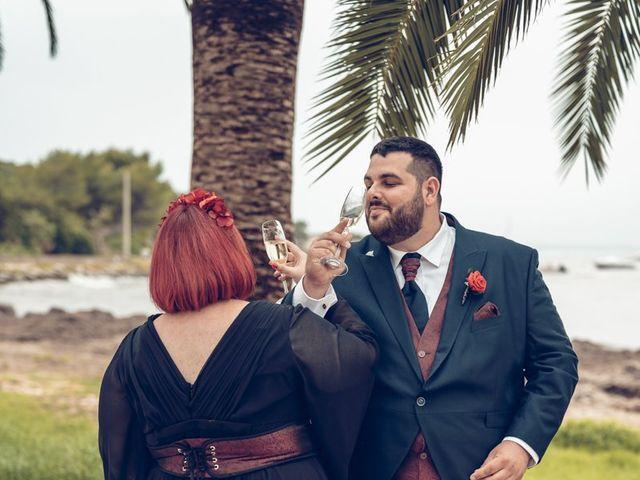 La boda de Iván y Lydia en Santa Maria (Isla De Ibiza), Islas Baleares 51