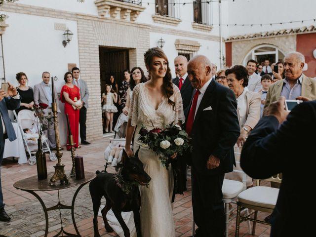 La boda de Juan Alberto y Marisol en Aguilar De La Frontera, Córdoba 1