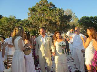 La boda de Ester y Francesco