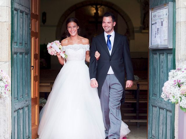 La boda de Olaya y Damián