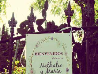 La boda de Nathalie y María 1