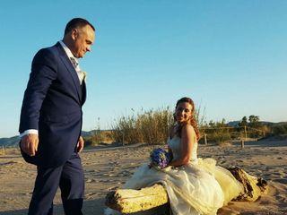 La boda de Agnès y Albert
