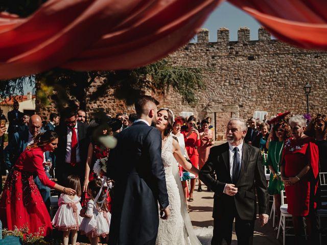 La boda de Marco y Elena en Bolaños De Calatrava, Ciudad Real 50