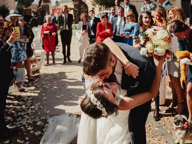 La boda de Marco y Elena en Bolaños De Calatrava, Ciudad Real 1
