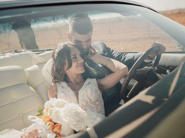 La boda de Marco y Elena en Bolaños De Calatrava, Ciudad Real 81